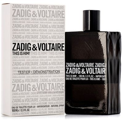Zadig & Voltaire This is Him! 100ml TESTER (Оригинал) Туалетная вода