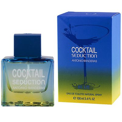 Antonio Banderas Cocktail Seduction Blue for men 100ml (Туалетная вода)