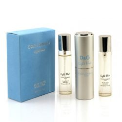 Dolce and Gabbana Light blue 3x20 ml (Туалетная вода)