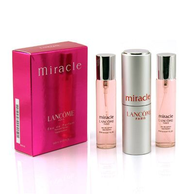 Lancome Miracle 3x20 ml (Парфюмерная вода)